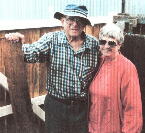 Karel Halla with his wife, Ursula. Photo: Czechoslovaktalks.com